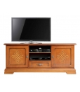 italian design tv cabinet, italian design furniture, wooden tv cabinet, tv stand with 2 doors, tv unit with friezes, living room furniture, classic style furniture,