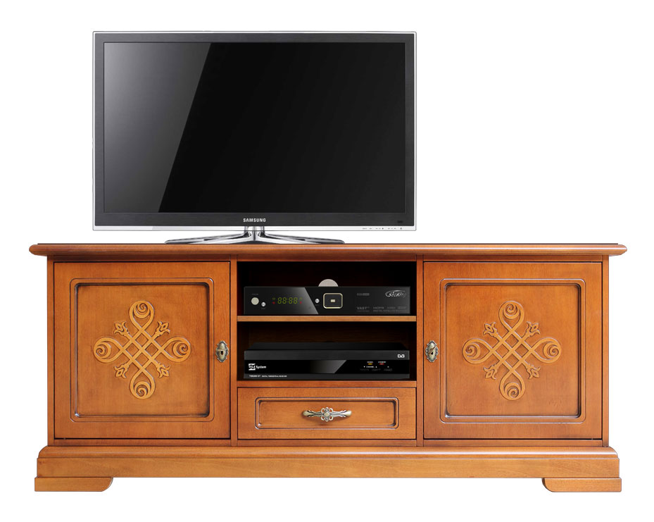 Wunderbar Italian Design Tv Cabinet In Wood With Friezes. Sku 3059 You