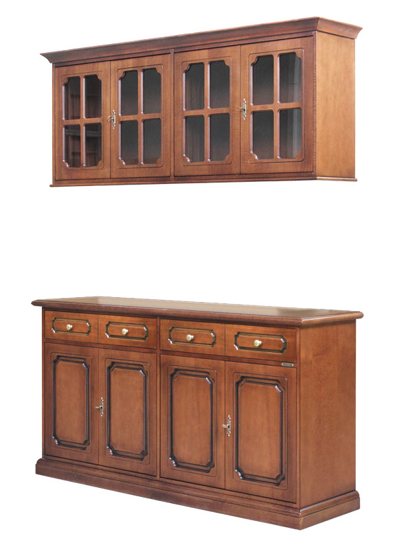 Sideboard with wall unit