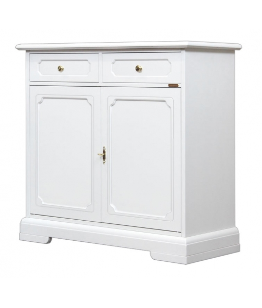 2 door 2 drawer sideboard for dining room. Sku 3200-B-SP