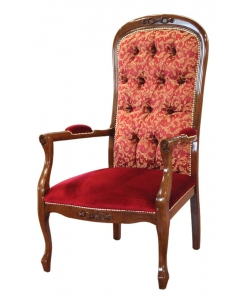buttoned back armchair, buttoned armchair, two colors armchair, living room armchair, classic armchair, italian armchair