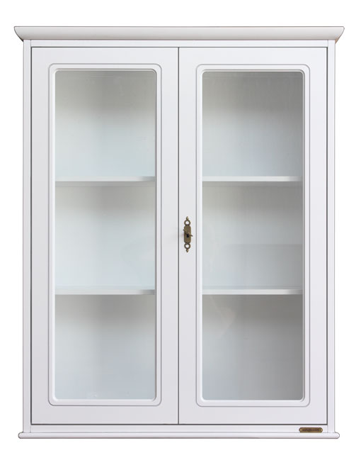 display cabinet, Lacquered wall cabinet, cabinet, wall unit, kitchen cabinet, wooden wall unit, kitchen furniture, cabinet with glass door