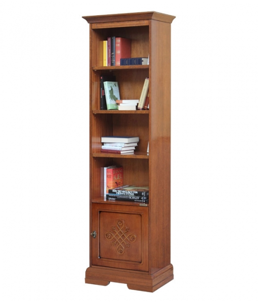Wooden bookcase, tall bookcase for living room. Sku 4089-YOu