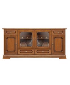 wooden sideboard Karol, wooden sideboard, classic sideboard,