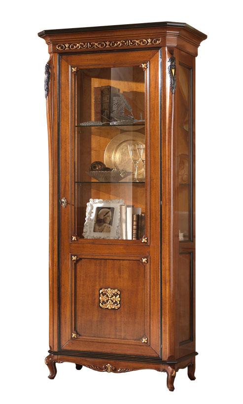 Display cabinet , classic display cabinet, wooden display cabinet, living room furniture