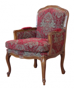 classic armchair, upholstered armchair, comfortable armchair, classic style, living room armchair