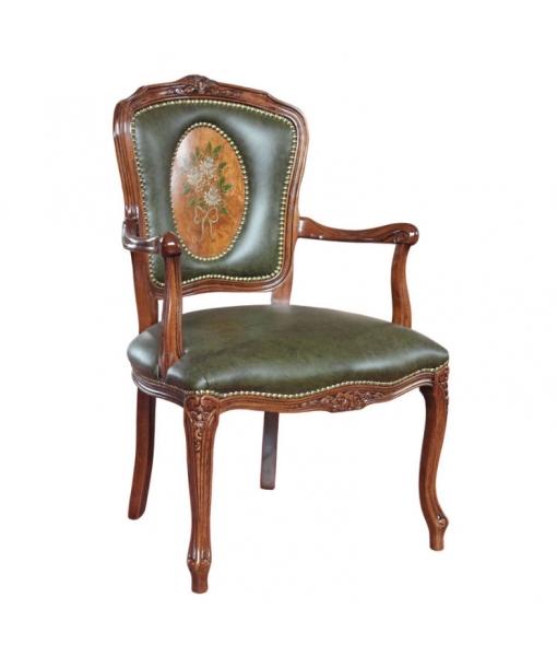 Handmade parisian armchair. Sku PADEC