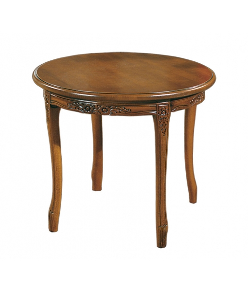 Round coffee table for classic living room. Sku Q-A87