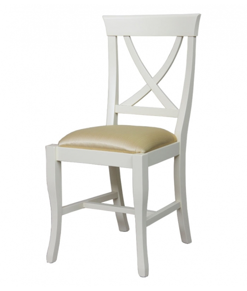 Lacquered dining chair in wood. Sku T0574-P