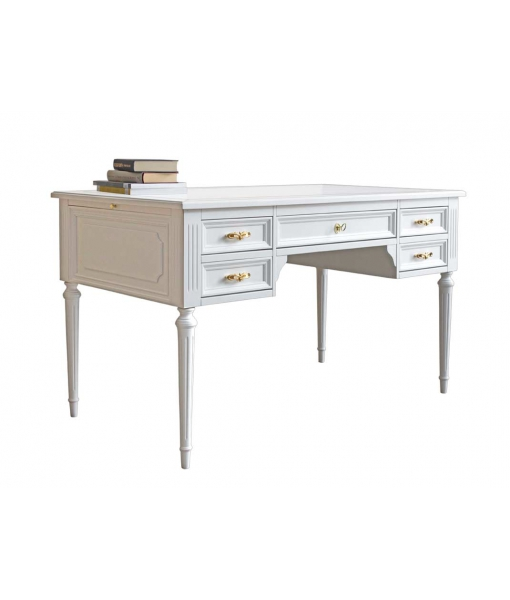 Laquered desk in Louis Philippe style