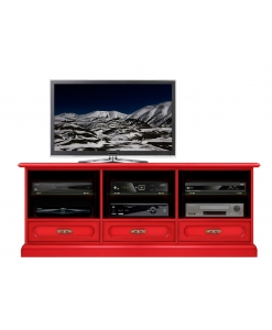 flaming red tv cabinet, tv unit, wooden tv cabinet, living-room furniture, red furniture, modern design