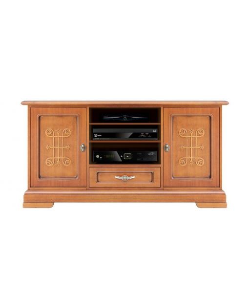 Wooden tv stand with friezes YOU collection sku. 4040-you