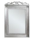 carved mirror, mirror with handmade leaf, golden leaf mirror, silver leaf mirror, classic style mirror, elegant mirror, entryway furniture, italian design mirror,