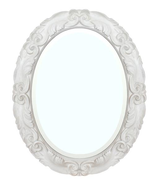 wooden frame,mirror, oval mirror, bevelled mirror,