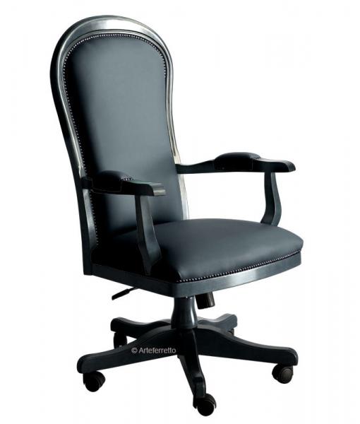 Office armchair, swivel armchair. Sku Mikedark