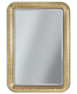 Rectangular mirror, mirror with swarovski, mirror, elegant mirror, entryway mirror, mirror in gold, wooden structure mirror