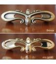 habdles, golden handles, bronzen handles
