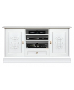 lacquered tv unit, tv cabinet, classic tv unit, lacquered tv cabinet