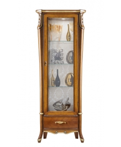 classical display cabinet, display cabinet, living room furniture, classic living room, wooden display cabinet, italian design,