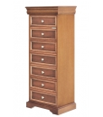Louis Philippe chest of drawers, chest of drawers, wooden chest of 8 drawers, bedroom furniture, bedroom chest of drawers, italian design, Louis Philippe style
