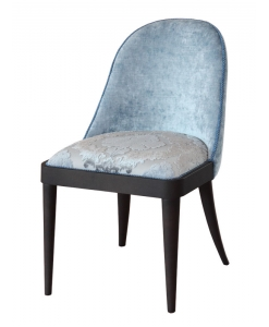 elegant upholstered chair, italian design chair, padded chair, velvet chair, comfortable living room chair, dining room chair, elegant chair