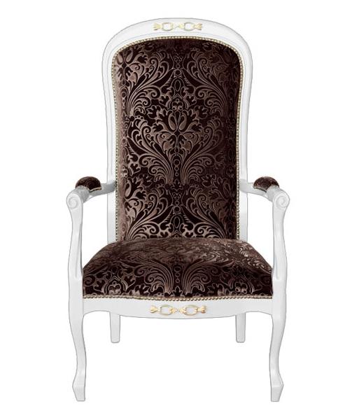 upholstered armchair, classic armchair, wooden armchair, living room armchair, classic style turn into modern, italian design armchair, armchair, elegant armchair, padded armchair, brown armchair