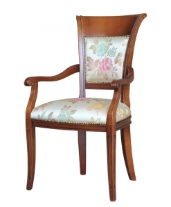 padded head chair, head chair, wooden chair, kitchen furniture, dining room chair, dining room furniture, italian furniture, furniture made in italy, upholstered chair, wooden head chair