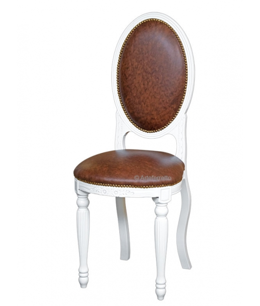 Oval chair Empire, solid wood chair, dining chair, wooden chair, classis style chair, upholstered chair,
