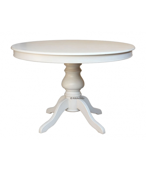 Extendable round table 120 cm. Sku  446-bi