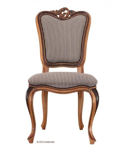 Inlaid chair for elegant dining room. Sku. AF-9528