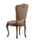 inlaid chair, classic chair, elegant chair, dining chair, dining room furniture, wooden chair, shaped chair, harringbone joint, beech wood chair, padded chair