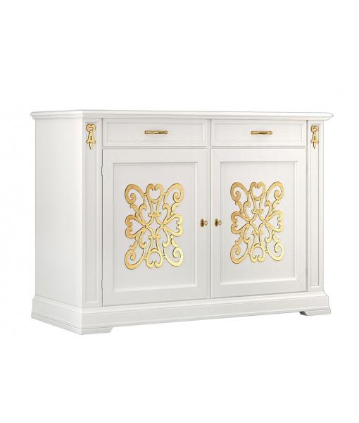 Elegant gold sideboard for dining room. Sku. EG-56-gold