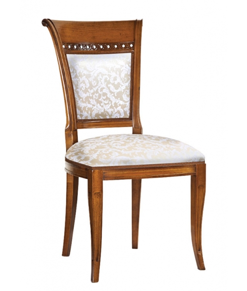 Elegant padded chair for dining room. Sku. M-A324