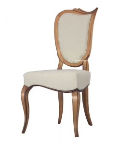 italian design dining chair, elegant chair, wooden chair, beech wood chair, padded chair, living room chair, dining room furniture, italian design furniture