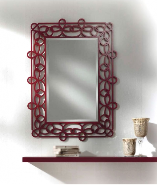 Hallway furniture mirror and shelf. Sku F-D30