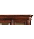 glass display cabinet, display cabinet, living room furniture, classic style furniture, Venetian style furniture,