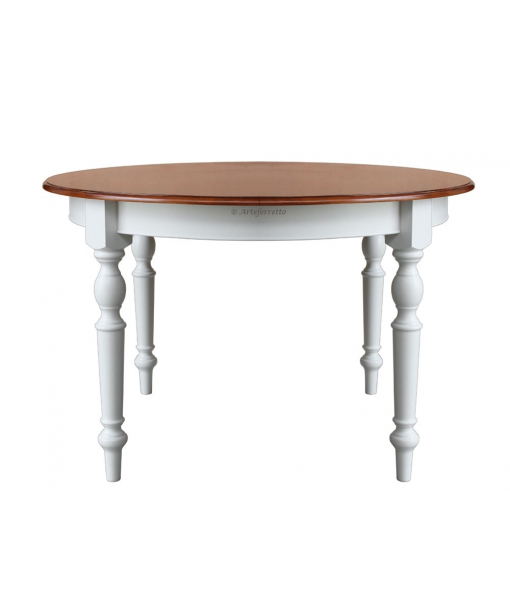 Two tone dining table art. fv-41-bic