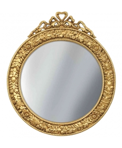 round gold leaf mirror, hallway mirror, beautiful mirror, wooden mirror, golden mirror, entryway furniture,
