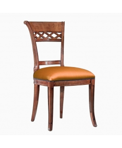 upholstered chair, solid structure chair, everyday use chair, classic chair, dining chair, wooden chair, padded chair, kitchen chair