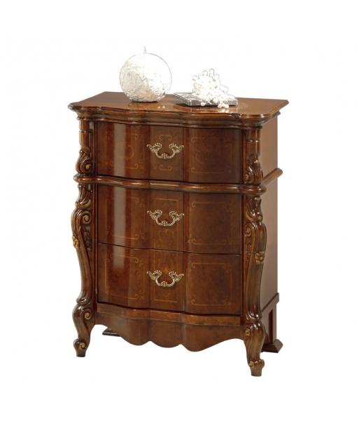 Elegant bedside table in classic style. Sku Verona700-C
