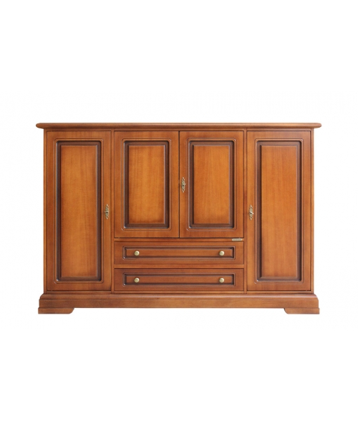 Living room sideboard in wood, classic style. Sku 3100-Q