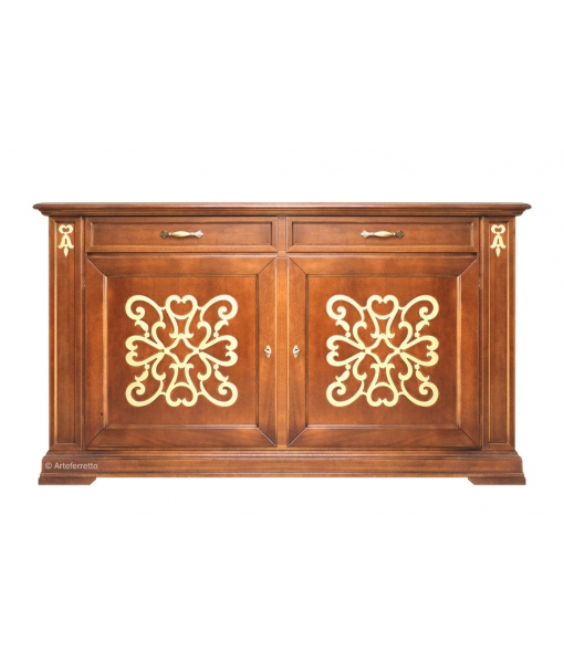 Decorated classic sideboard for dining room. Sku EG-51-G