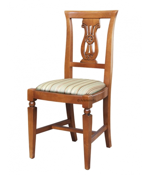 Dining room chair in wood. Sku F-84