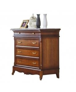 four drawer dresser, wooden dresser, classic dresser, classic style furniture, bedroom furniture,