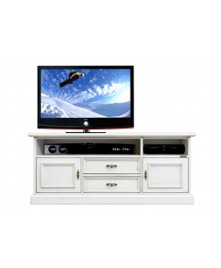low tv stand, tv stand, white tv unit, tv cabinet, living room cabinet, soundbar shelf, wooden furniture, wooden tv cabinet, living room furniture,