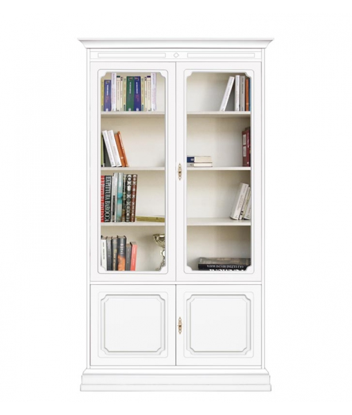 Wooden display cabinet for elegant living room. Sku 204-AV