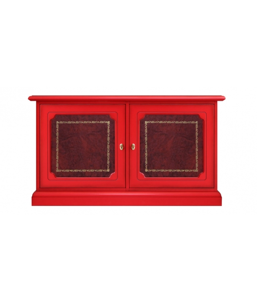 Dining side cabinet, sideboard, lower sideboard, red sideboard, dining room furniture, wooden sideboard, strange sideboard,