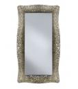 venetian glass mirror, rectangular mirror, elegant mirror, glass mirror, entryway furniture, hallway furniture, hallway mirror, long shape mirror