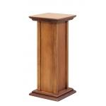 wooden plant stand, wooden pedestal, sound box pedestal, living room accessories, pedestal for vase, pedestal in wood,