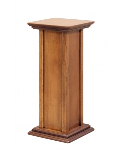 wooden plant stand, wooden pedestal, sound box pedestal, living room accessories, pedestal for vase, pedestal in wood,